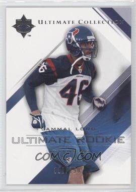 2004 Upper Deck Ultimate Collection - [Base] #77 - Jammal Lord /750