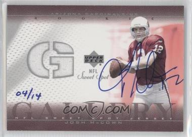 2004 Upper Deck Ultimate Collection Buyback Autographs #RG-JM - Josh McCown