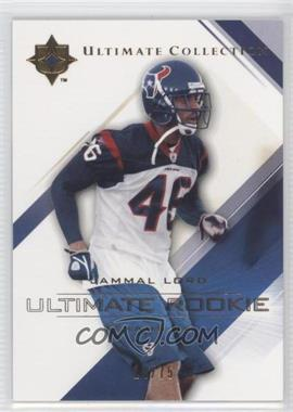 2004 Upper Deck Ultimate Collection Gold #77 - Jammal Lord /75