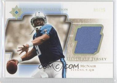 2004 Upper Deck Ultimate Collection Ultimate Jerseys Gold #UGJ-SM - Steve McNair /25