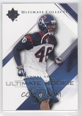 2004 Upper Deck Ultimate Collection #77 - Jammal Lord /750