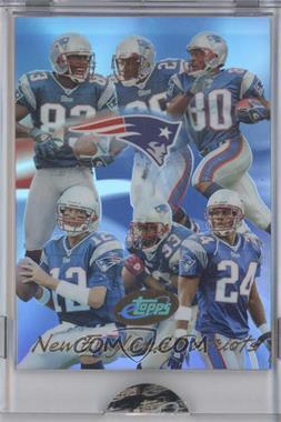 2004 eTopps #3 - New England Patriots Team