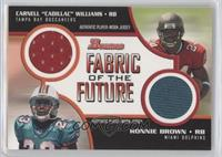 Cadillac Williams, Ronnie Brown /50