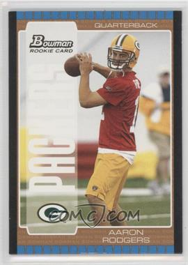 2005 Bowman [???] #112 - Aaron Rodgers