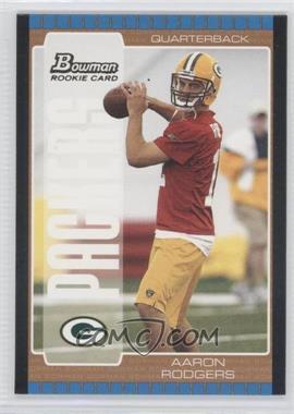 2005 Bowman Bronze #112 - Aaron Rodgers