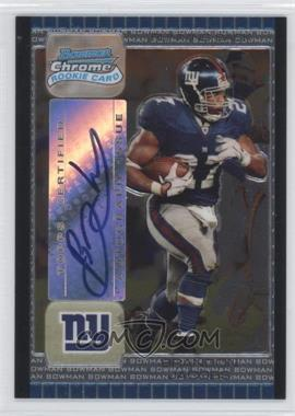 2005 Bowman Chrome #255 - Brandon Jacobs