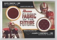 Alex Smith, Jason Campbell /50