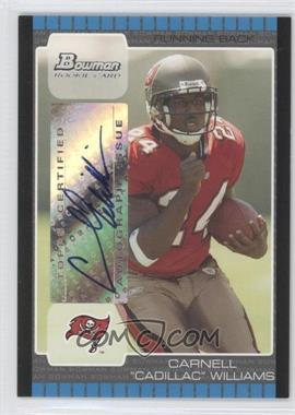 2005 Bowman Rookie Autographs [Autographed] #115 - Carnell Williams