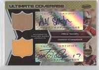 Alex Smith, Jason Campbell /25
