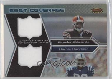 2005 Bowman's Best [???] #BCR-EH - Braylon Edwards /25