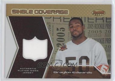 2005 Bowman's Best [???] #SCR-BE - Braylon Edwards /50