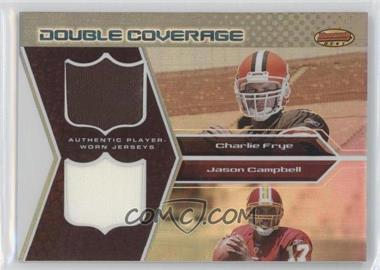 2005 Bowman's Best Double Coverage Jerseys #DCR-FC - Charlie Frye, Jason Campbell /50