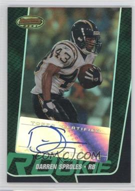 2005 Bowman's Best Green #141 - Darren Sproles /599