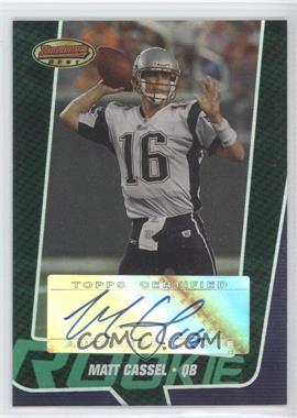 2005 Bowman's Best Green #149 - Matt Cassel /599