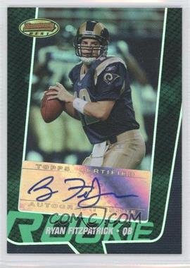 2005 Bowman's Best Green #153 - Ryan Fitzpatrick /599