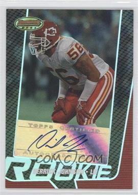 2005 Bowman's Best Silver #162 - Derrick Johnson /25