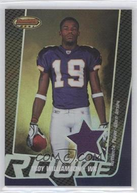 2005 Bowman's Best Silver #NoN - Troy Williamson /25