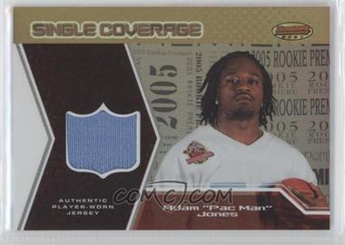 2005 Bowman's Best Single Coverage Jerseys #SCR-AJ - Pac Man Jones /50