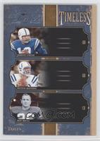 Don Shula, Johnny Unitas, Peyton Manning /500