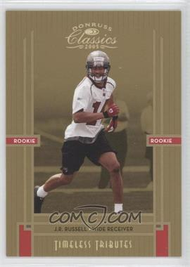 2005 Donruss Classics Timeless Tributes Gold #235 - J.R. Russell /25