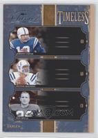 Don Shula, Johnny Unitas, Peyton Manning /500