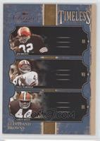 Jim Brown, Leroy Kelly, Paul Warfield /1000