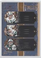 Joe Namath, Chad Pennington, Don Maynard /1000