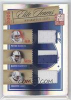 Peyton Manning, Marvin Harrison, Edgerrin James /25
