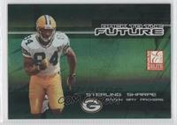 Sterling Sharpe, Lionel Washington, Javon Walker /1000
