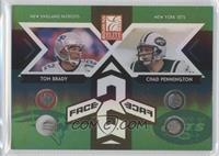 Tom Brady, Chad Pennington /125