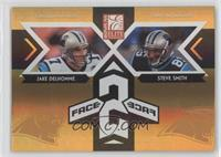 Jake Delhomme, Steve Smith, Steve Smith /1000