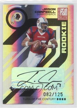 2005 Donruss Elite Turn of the Century Autographs #156 - Jason Campbell /125