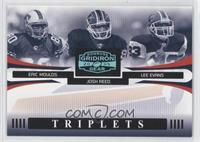 Eric Moulds, Josh Reed, Lee Evans /25