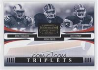 Eric Moulds, Josh Reed, Lee Evans /1000