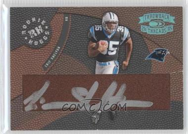 2005 Donruss Throwback Threads - Rookie Hoggs - Autographs Hawaii Trade Conference [Autographed] #RH-22 - Eric Shelton /12