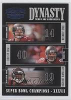 Brad Johnson, Mike Alstott, Keyshawn Johnson /100