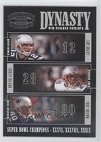 Tom Brady, Corey Dillon, Troy Brown