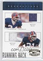 Thurman Thomas, Willis McGahee /50
