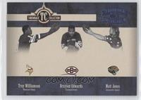 Troy Williamson, Braylon Edwards /100