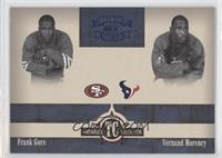 Frank Gore, Vernand Morency /100