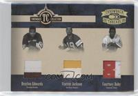 Braylon Edwards, Vincent Jackson, Courtney Roby /25