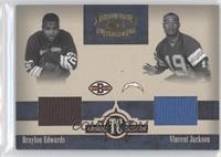 Braylon Edwards, Vincent Jackson /150