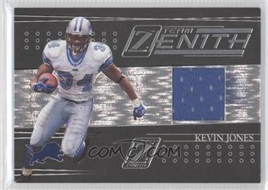 2005 Donruss Zenith - Team Zenith - Jerseys [Memorabilia] #TZ-7 - Kevin Jones /100