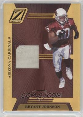 2005 Donruss Zenith - Z-Jerseys - Prime #Z-2 - Bryant Johnson /100