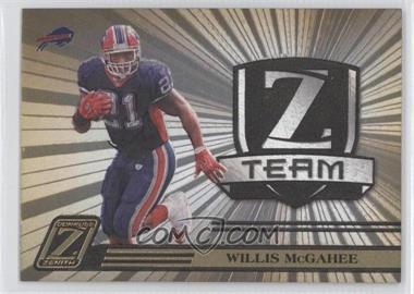 2005 Donruss Zenith - Z Team - Gold #ZT-3 - Willis McGahee /100