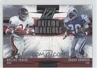 Barry Sanders, Walter Payton