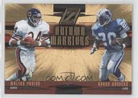 Walter Payton, Barry Sanders /100