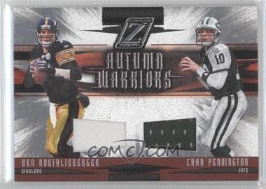 2005 Donruss Zenith Autumn Warriors Materials [Memorabilia] #AW-1 - Ben Roethlisberger /250