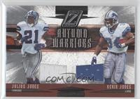 Julius Jones, Kevin Jones /250