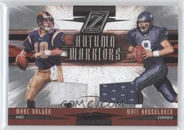 2005 Donruss Zenith Autumn Warriors Materials [Memorabilia] #AW-20 - Marc Bulger /250